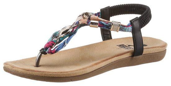 2GO FASHION Sandale mit modischen Schmuckapplikationen
