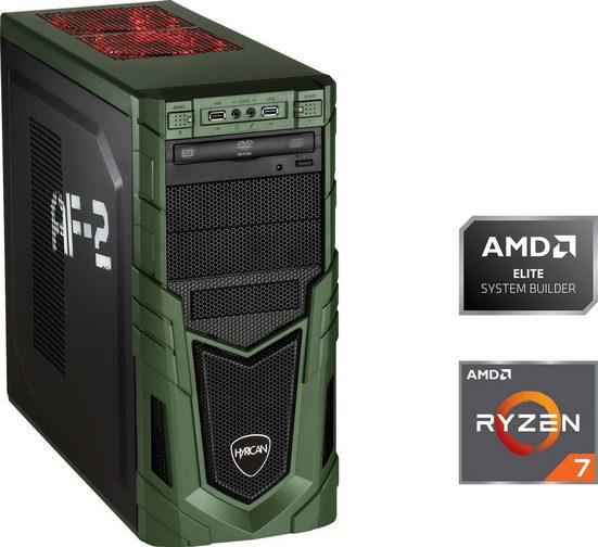 Hyrican Military 6500 Gaming-PC (AMD Ryzen 7 3700X, GeForce RTX 2070 Super, 16 GB RAM, 1000 GB SSD, Luftkühlung)