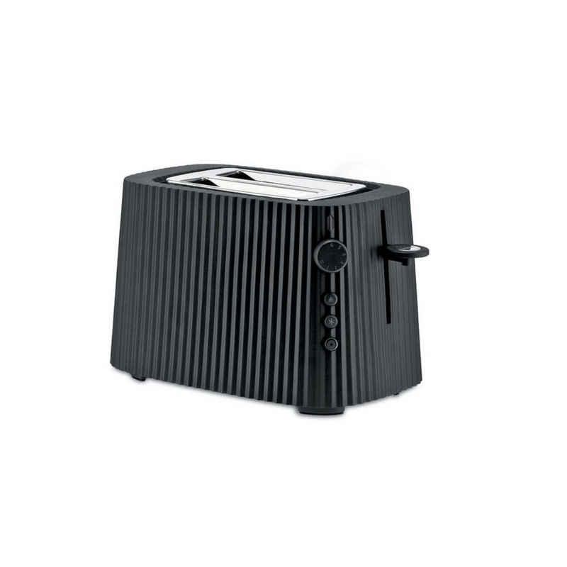 Alessi Toaster Toaster Plissé - Farbwahl, Europäischer Stecker, Elektrische Leistung 850 Watt