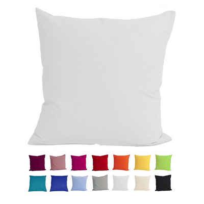 Kissenbezug »Basic«, beties, Kissenhülle ca. 40x40 cm 100% Baumwolle in vielen fröhlichen Uni-Farben