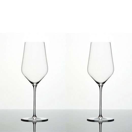 Zalto Weißweinglas »Denk´Art Weißweinglas Mundgeblasen 2er Set« (2-tlg), Glas