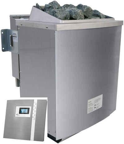 Karibu Bio-Saunaofen, 9 kW, externe Steuerung, »Premium Bio«, mit Steinen