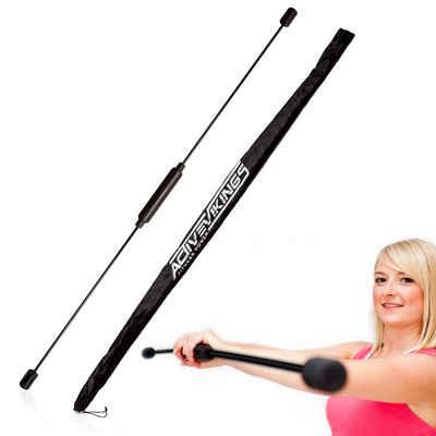 ActiveVikings Swingstick »ActiveVikings® Swingstick inkl. Tasche - Idealer Schwingstab für das Training der Tiefenmuskulatur - Schwungstab für Fitness Reha und Gymnastik Übungen« (Inklusive Tasche), Ideal für Rehabilitation und Krankengymnastik