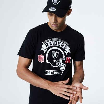 New Era Print-Shirt »New Era NFL OAKLAND RAIDERS Graphic Helmet T-Shirt«