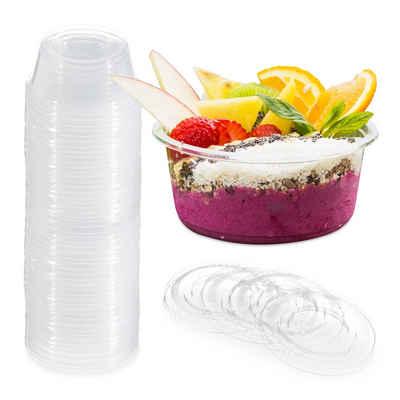 relaxdays Dessertschale »Dessertbecher Plastik 250er Set«, Kunststoff