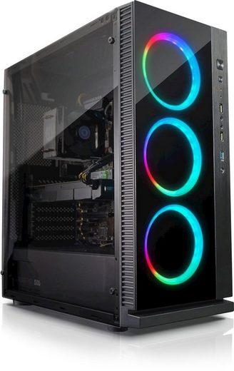 Kiebel Gaming-PC (AMD Ryzen 7, RTX 2060, 16 GB RAM, 1000 GB HDD, 500 GB SSD, Luftkühlung)