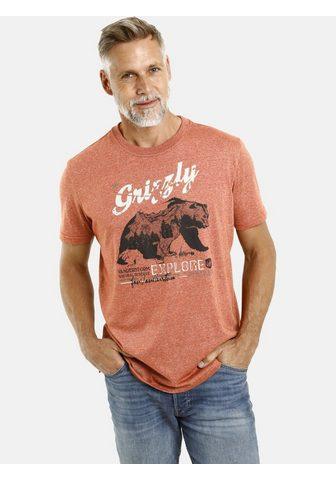 Jan Vanderstorm Marškinėliai »TAIT« su Grizzly-Print C...