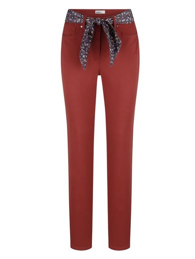 Dress In 5-Pocket-Hose mit Bindegürtel