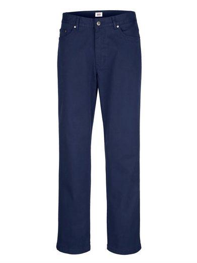 Roger Kent 5-Pocket Hose mit Reißverschluss-Gesäßtasche