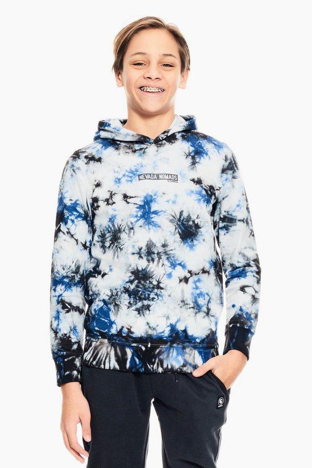 garcia -  Sweater mit Batikdruck