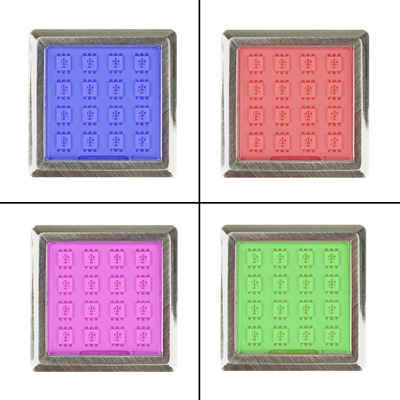 kalb LED Glaskantenbeleuchtung »kalb LED RGB Vitrinenbeleuchtung Glasbodenbeleuchtung Möbelleuchte Schrankleuchte SET«