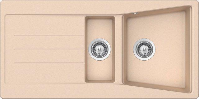 RESPEKTA Einbauspüle »SEATTLE1.5B«| 100x50 cm| 1|5 Becken | Küche und Esszimmer > Spülen | Respekta