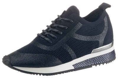 La Strada »Fashion Sneaker« Sneaker mit Besatz in Reptilienoptik