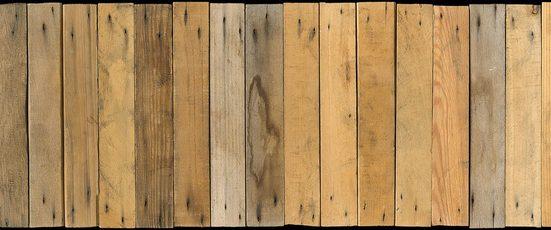 Architects Paper Fototapete »Little Boards«, (Set, 6 St), Holz Optik, Holzplanken, Vlies, glatt