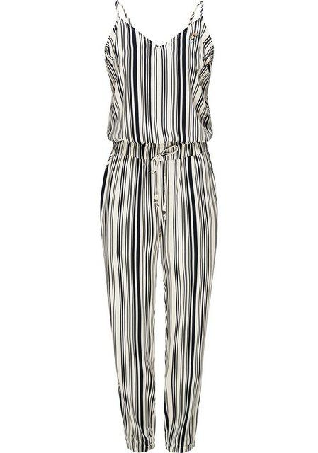 Hosen - Ragwear Jumpsuit »Poemy« schicker langer Damen Overall mit Spaghettiträgern › weiß  - Onlineshop OTTO