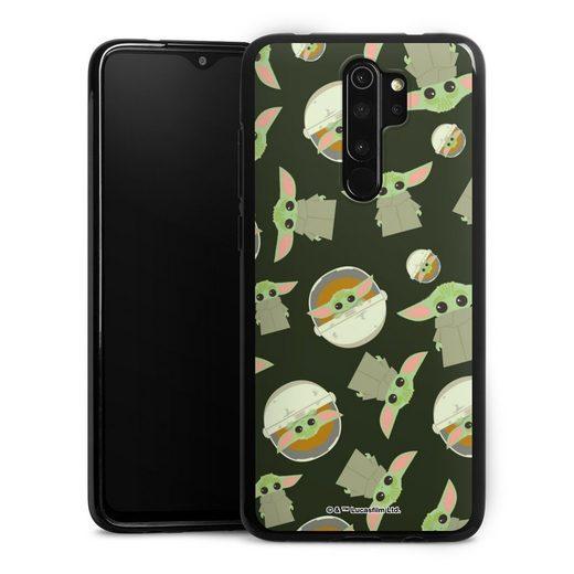DeinDesign Handyhülle »Star Wars The Child Pattern« Xiaomi Redmi Note 8 Pro, Hülle Star Wars Muster Baby Yoda Offizielles Lizenzprodukt