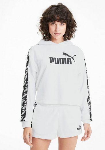 PUMA Kapuzensweatshirt »Amplified Cropped Hoody TR«