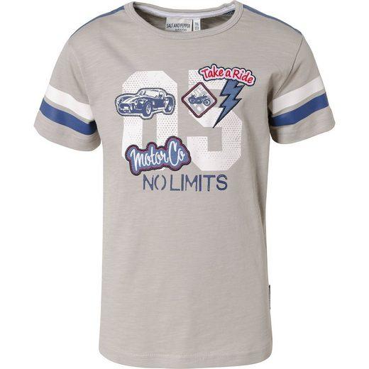 Salt & Pepper T-Shirt für Jungen, Auto