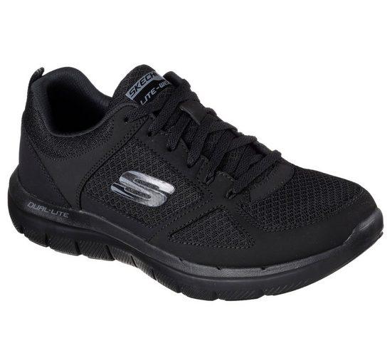 Skechers »Flex-Advantage 2.0 - Lindman« Sneaker mit gepolstertem Schaftrand