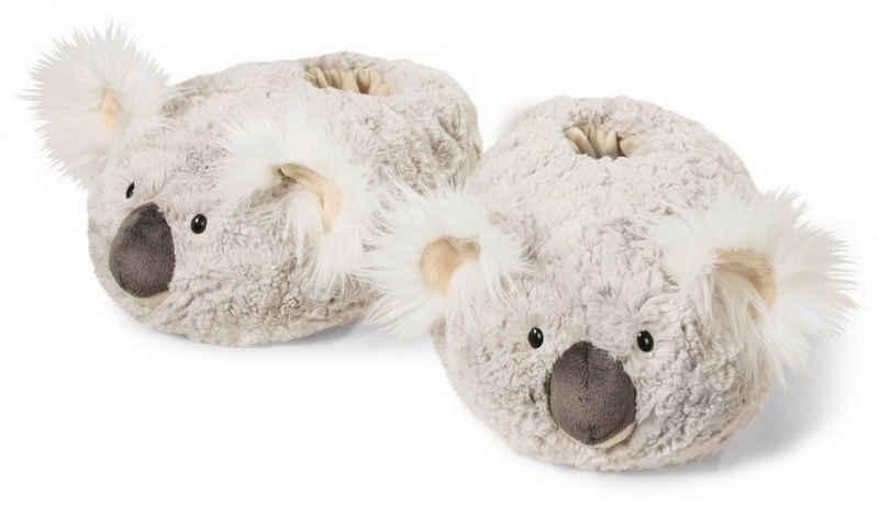 Nici »KOALA« Plüsch Hausschuhe mit flauschigen Ohren
