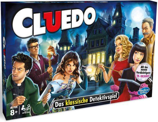 Hasbro Spiel, »Hasbro Gaming, Cluedo«, Made in Europe