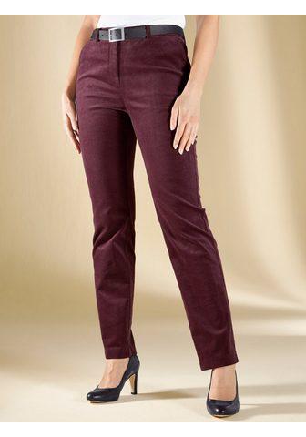 m. collection Velvetinės kelnės su Stretch