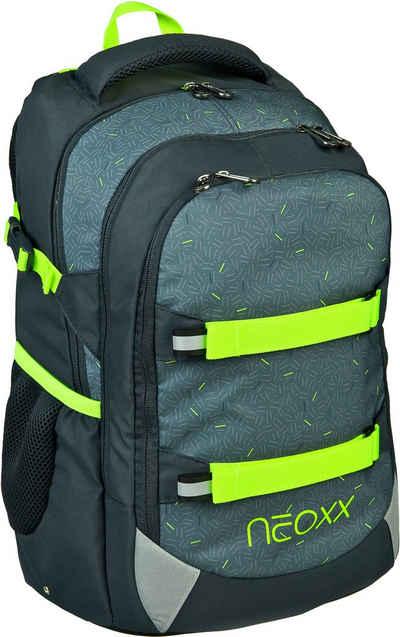 neoxx Schulrucksack »Active, Boom«, aus recycelten PET Flaschen