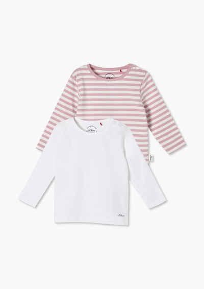 s.Oliver Langarmshirt »Doppelpack Jerseyshirts« (1-tlg)