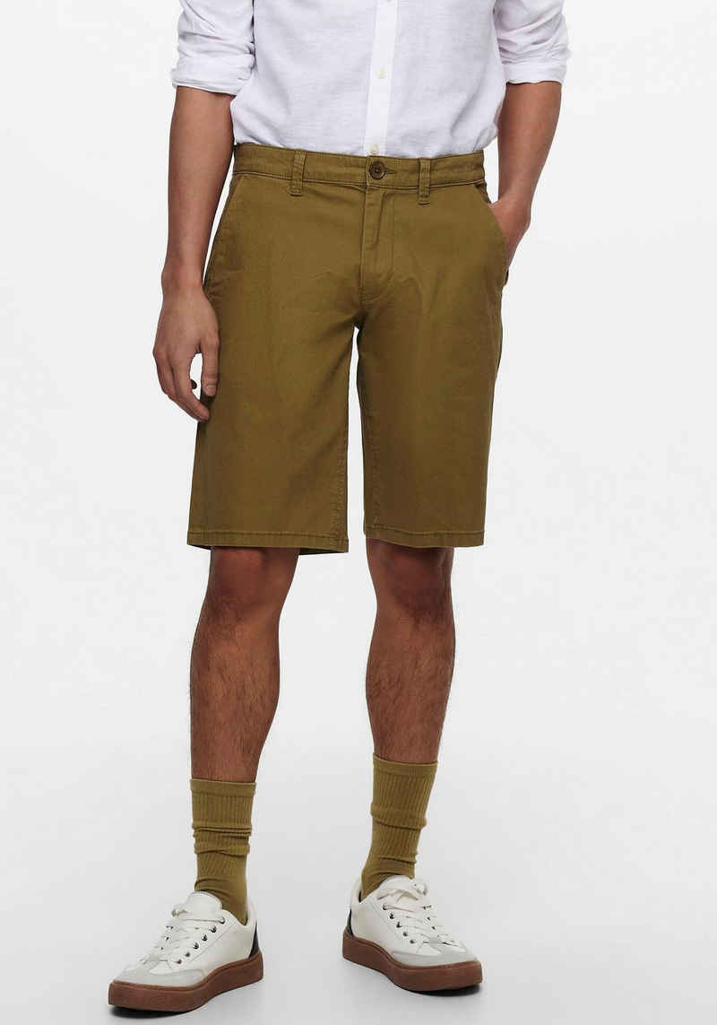 ONLY & SONS Shorts »LEO SHORTS LINEN«