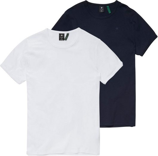 G-Star RAW T-Shirt (Packung, 2er-Pack)