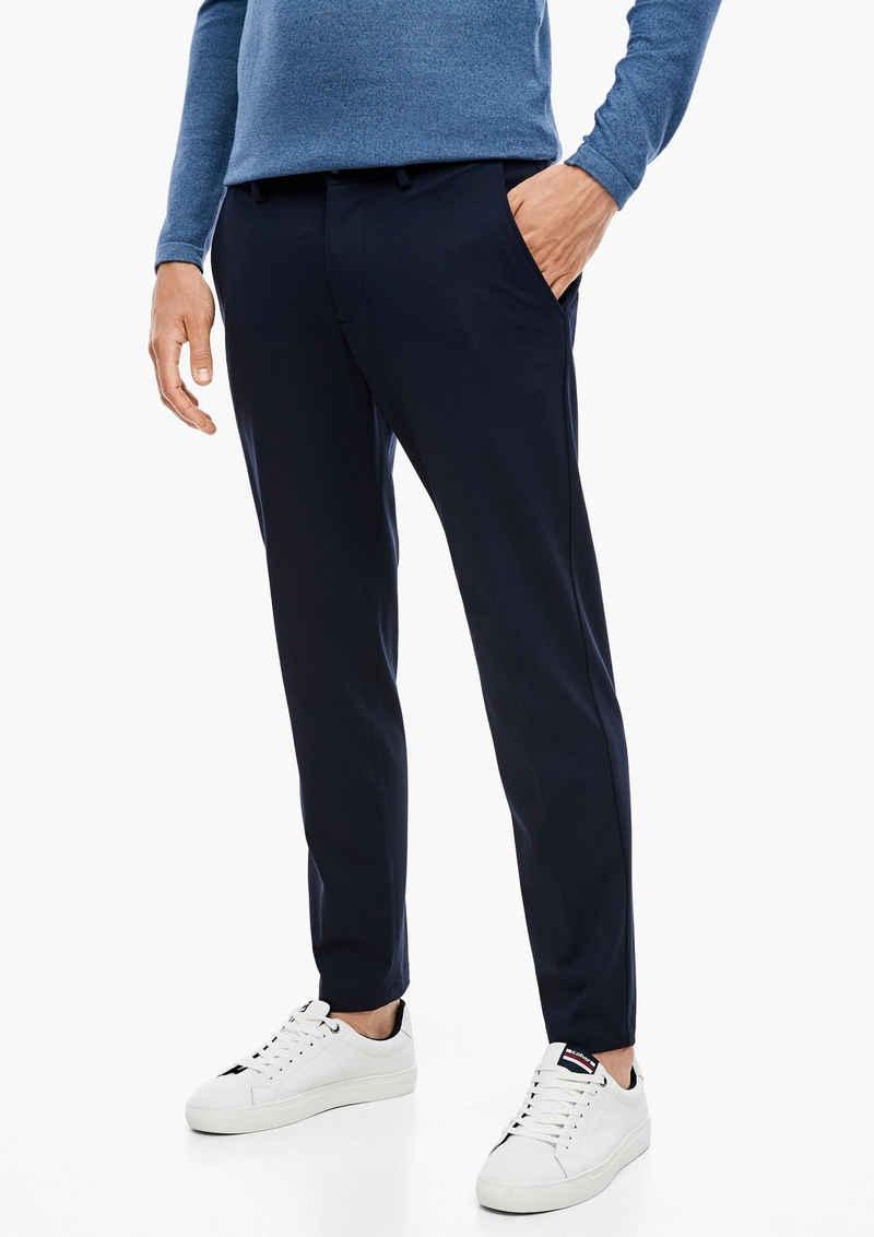s.Oliver BLACK LABEL Stoffhose »Slim: Jogg Suit-Hose« (1-tlg)