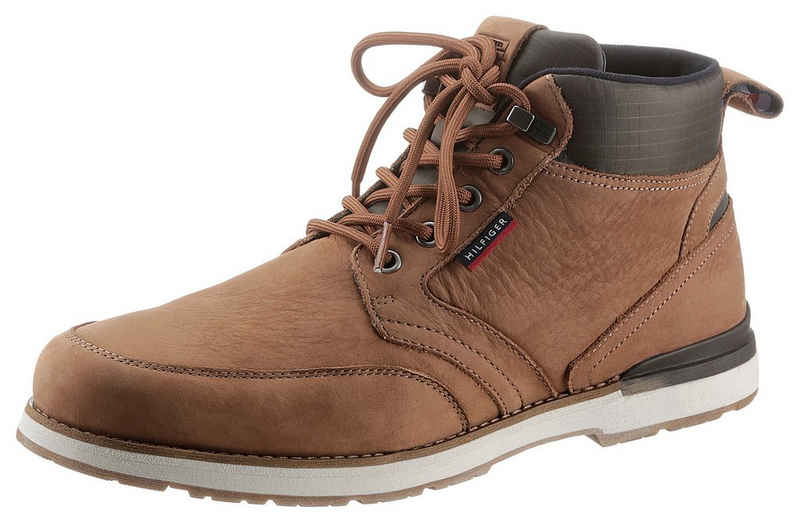 Tommy Hilfiger »OUTDOOR CORPORATE MIX BOOT« Schnürboots mit Materialmix