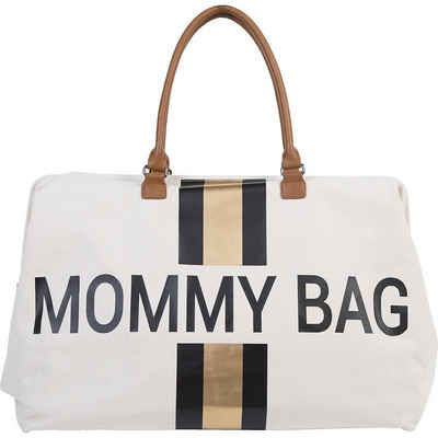 CHILDHOME Wickeltasche »Wickeltasche Mommy Bag, Canvas, Streifen«