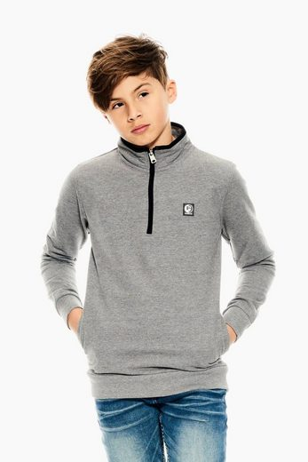 Garcia Sweater mit Stehkragen