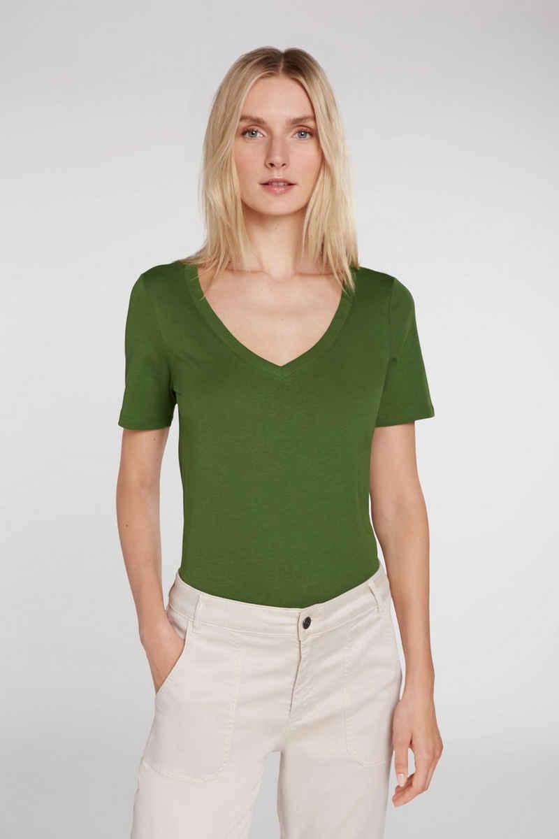 Oui T-Shirt »Essential Shirt in Organic Cotton«