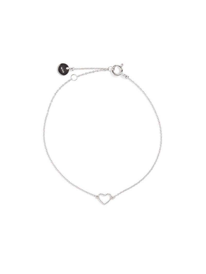 Esprit Silberarmband »Armband mit Herz-Anhänger, Sterling Silber«