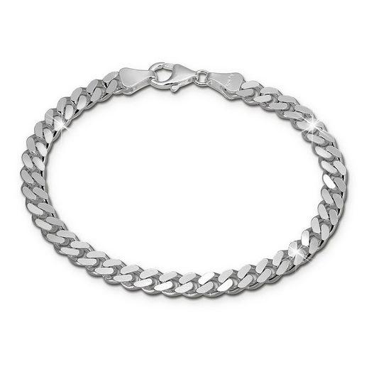 SilberDream Silberarmband »SDA2411J SilberDream Armschmuck 21cm silber« (Armbänder), Armbänder für Damen, Herren 925 Sterling Silber, Made-In Germany