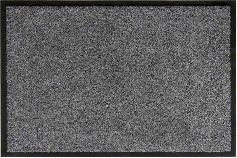 Fußmatte »Verdi«, Andiamo, rechteckig, Höhe 6 mm, Schmutzfangmatte, Innen- und überdachten Außenbereich geeignet, waschbar mit rutschhemmender Rückseite