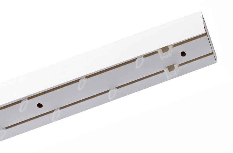 Schienensystem »Leiste mit Blende«, GARESA, 2-läufig, Wunschmaßlänge