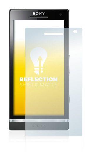 upscreen Schutzfolie »für Sony Ericsson Xperia S LT26i«, Folie Schutzfolie matt entspiegelt