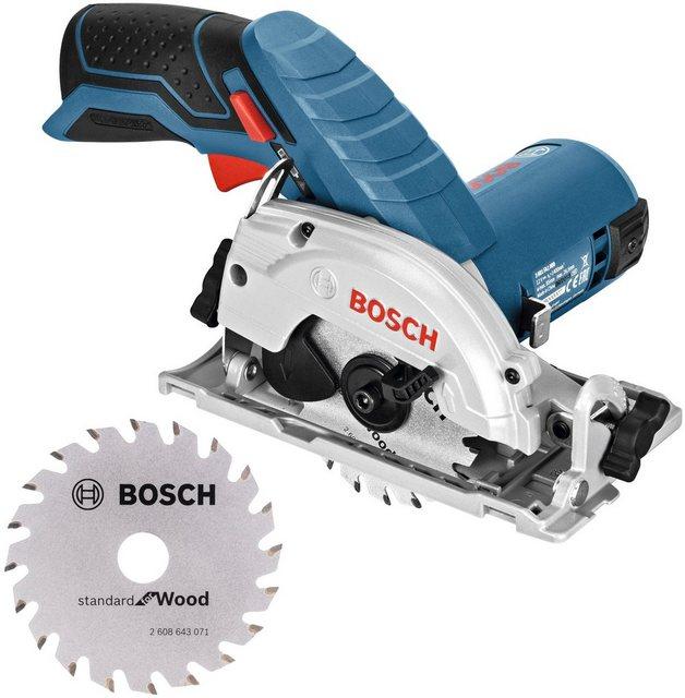 Bosch Professional Akku-Handkreissäge GKS 12V-26 , Set, ohne Akku und Ladegerät