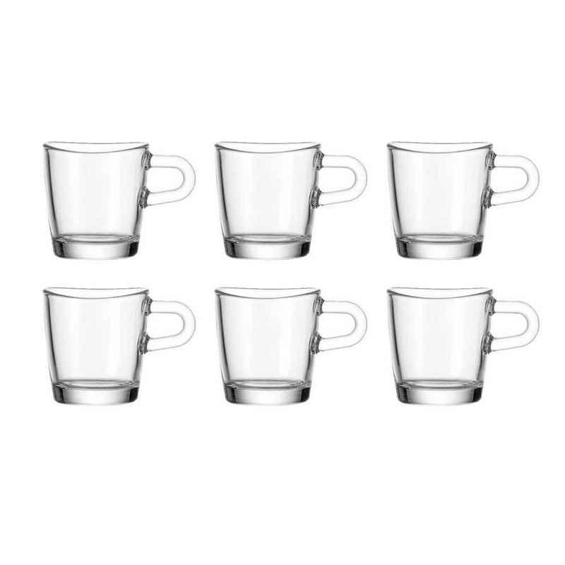 LEONARDO Espressoglas »Espressotasse 6er-Set Loop«, Glas