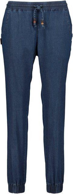 Hosen - Alife Kickin Jogger Pants »AliciaAK« lässige Hose mit Seitentaschen im Denim Style › blau  - Onlineshop OTTO