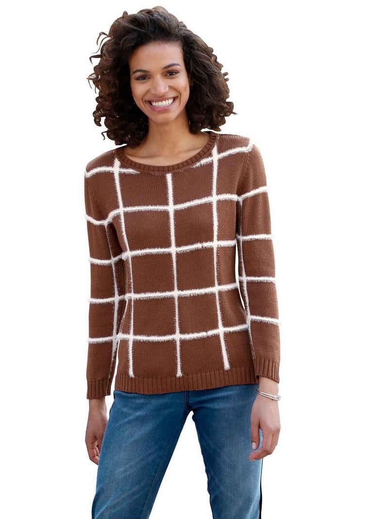 Casual Looks Jacquardpullover »Pullover«