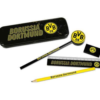 Borussia Dortmund Malstift »BVB-Schreibset mit Metallbox 6tlg«