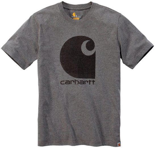 CARHARTT T-Shirt »C-LOGO GRAPHIC S/S«, GRANITE HEATHER
