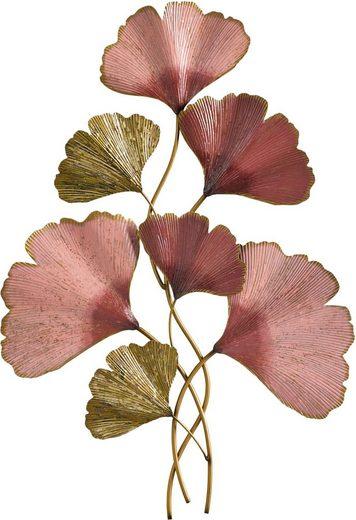 Wanddeko Ginkgo Blätter