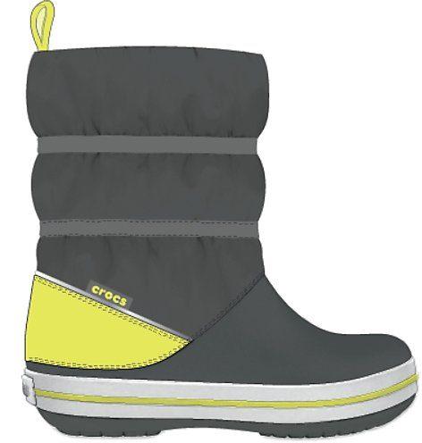 Crocs »Winter Puff Boot« Winterstiefel zum Schlupfen