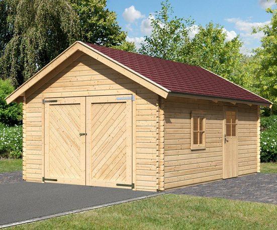 KARIBU Einzel-Garage »Christian«, BxT: 435x572 cm, Einfahrtshöhe: 193 cm