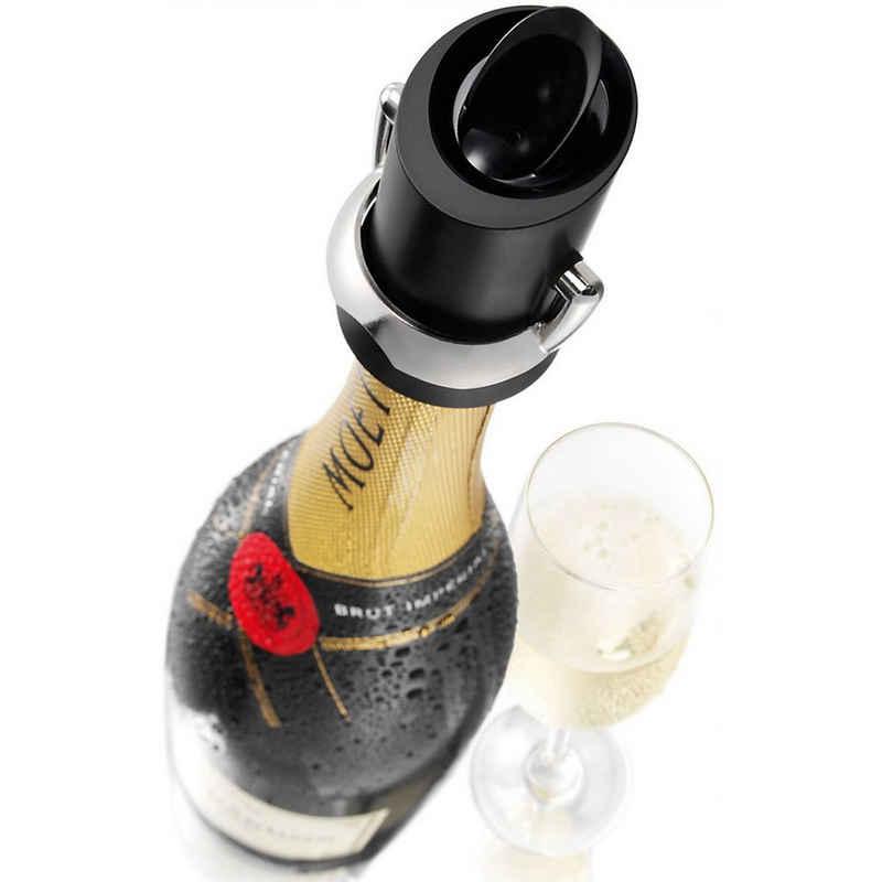 VACUVIN Flaschenausgießer »Champagner- & Sekt-Verschluss mit Ausgiesser«